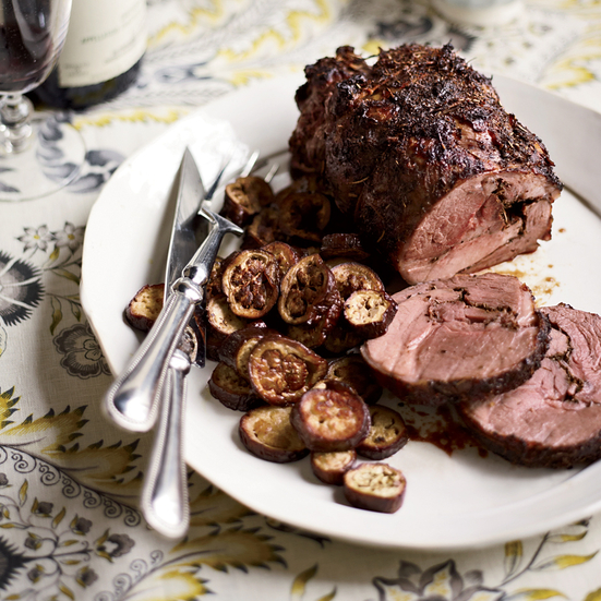 Honey-Glazed Lamb with Herbes de Provence