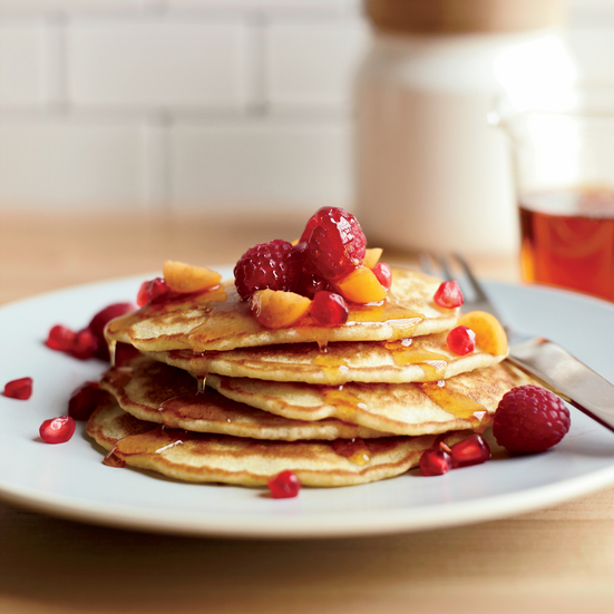 Flax-Coconut Pancakes