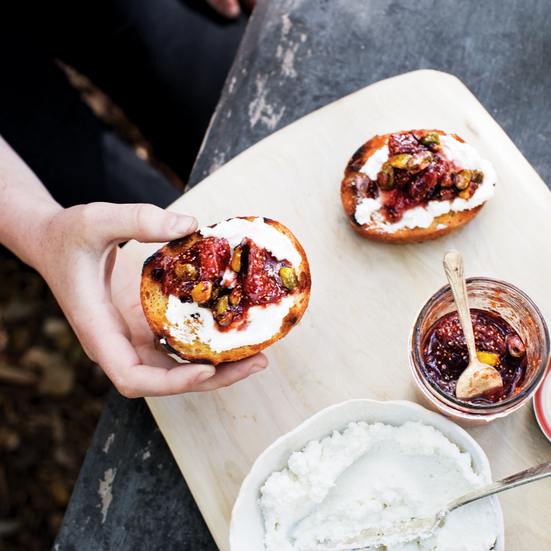Fig, Orange & Pistachio Conserve Recipe