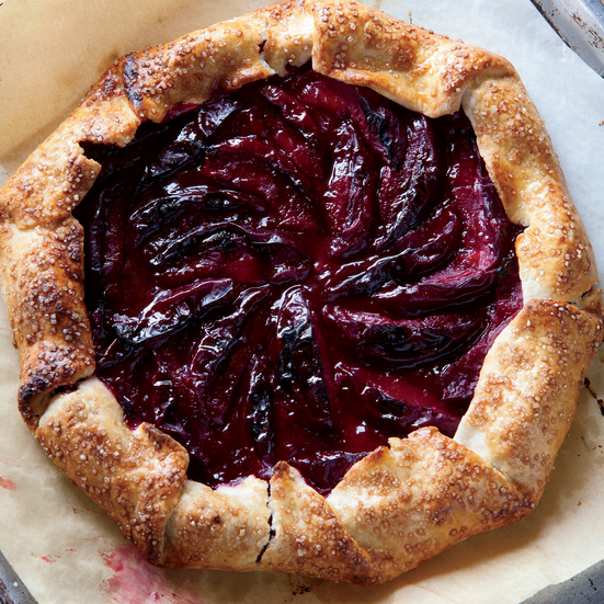 Summer Plum Crostata Recipe