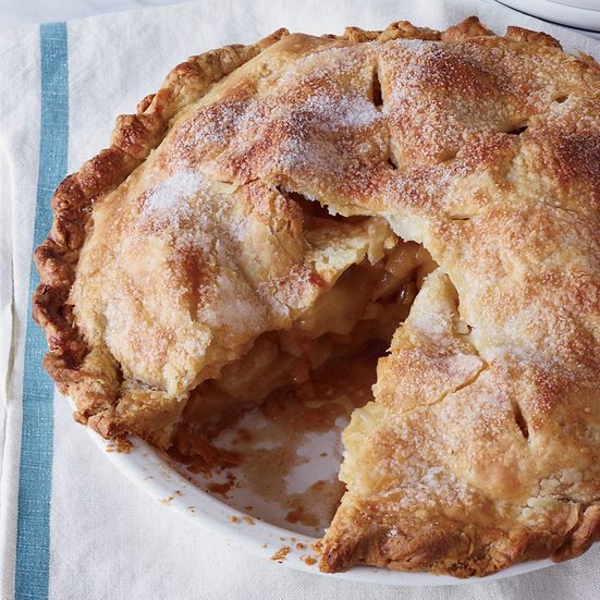Double-Crust Apple-Apricot Pie