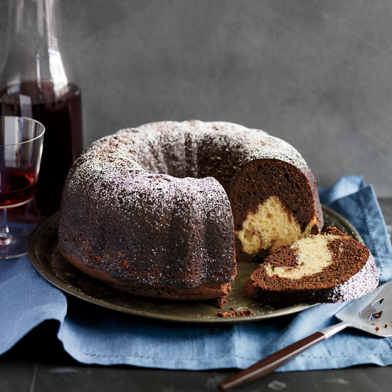 Reverse Marble Bundt Cake Recipe Matt Lewis Food Amp Wine