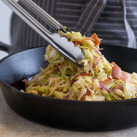 Sautéed Cabbage and Bacon