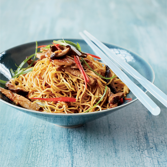 Stir-Fried Noodles with Roast Pork