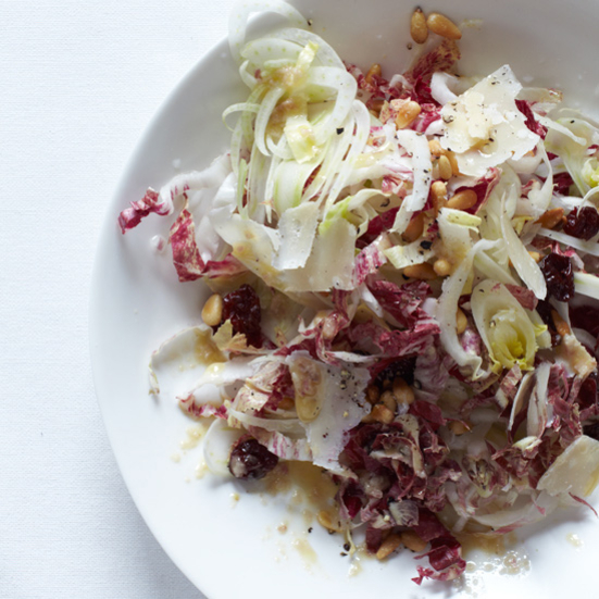 Shaved-Fennel Salad with Anchovy Vinaigrette