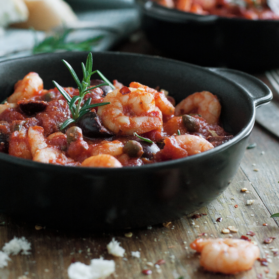 Garlic Shrimp in Tomato Sauce