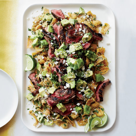 Cola-Marinated Flank Steak with Frito Chilaquiles Recipe - Jamie ...
