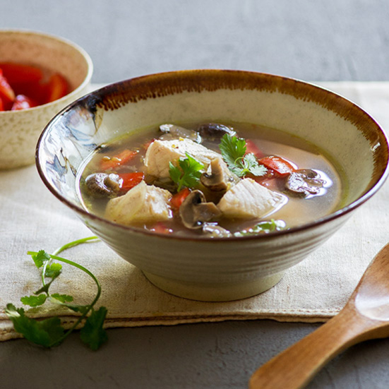 Thai Hot-and-Sour Fish Soup