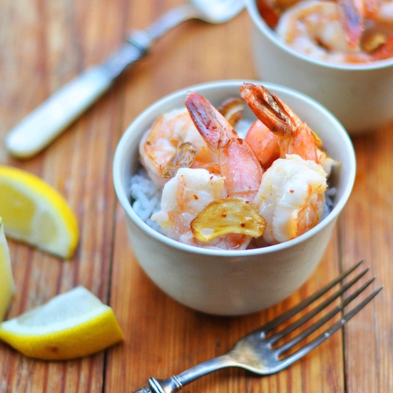Sautéed Garlic Shrimp