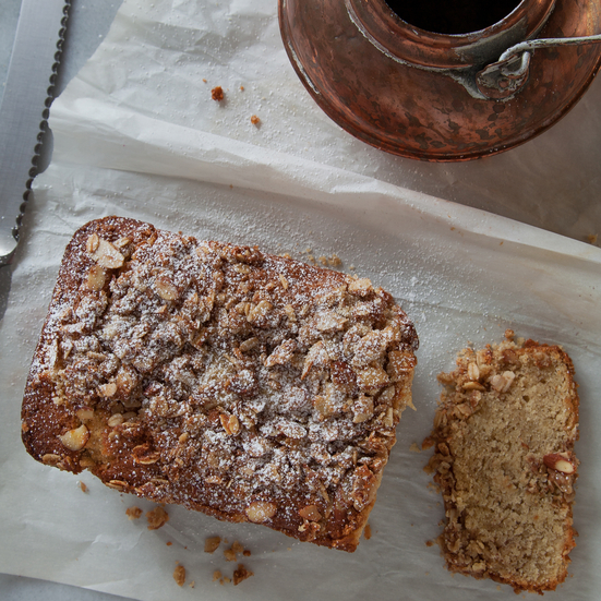 Almond-Streusel Tea Cake