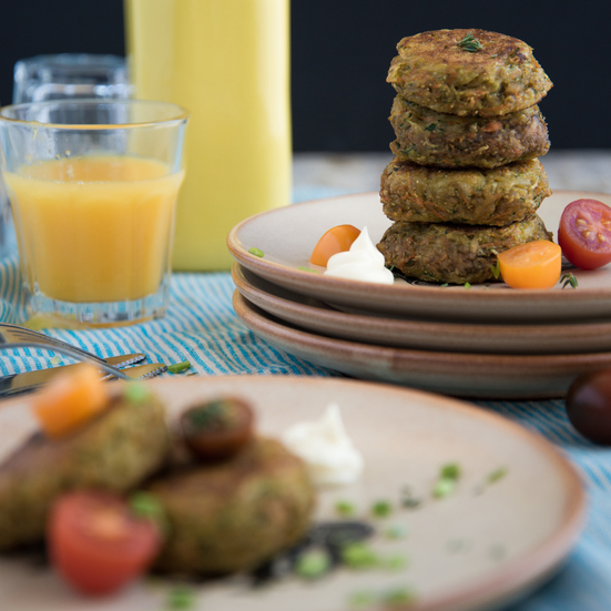 Potato Cakes with Zucchini and Carrot