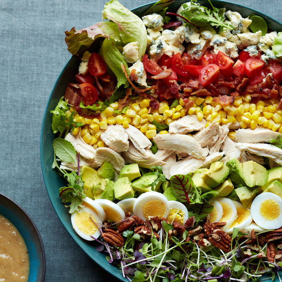 Southern Cobb Salad with Roasted Sweet Onion Dressing
