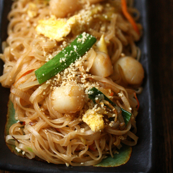 Scallop Pad Thai
