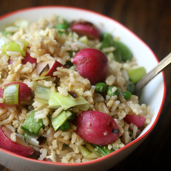 Spring Vegetable Fried Rice