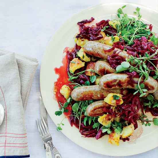 Citrus-Spiced Red Cabbage