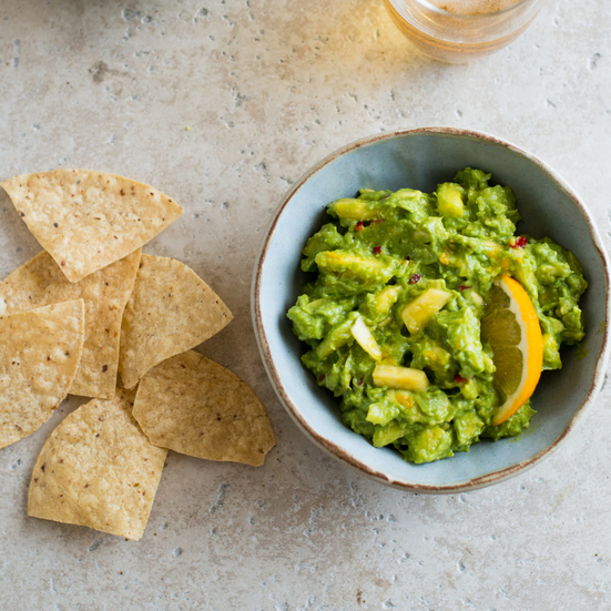 Pineapple-Orange Guacamole