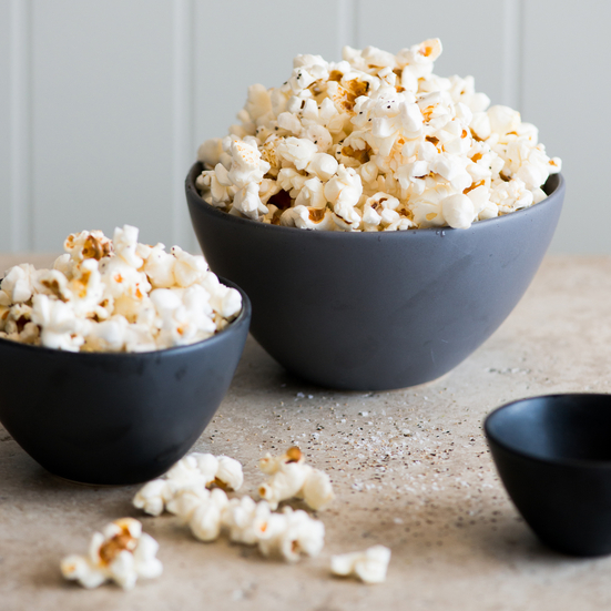 Sea Salt & Black Pepper Popcorn