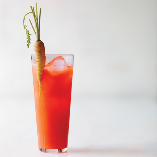 Carrot-Pear Shrub