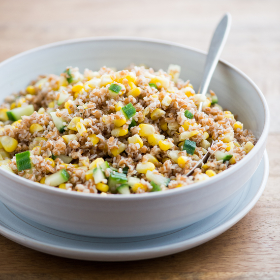 Corn and Bulgur Salad
