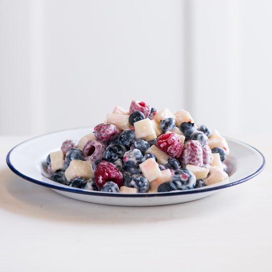 Fourth of July Red, White and Blueberry Salad
