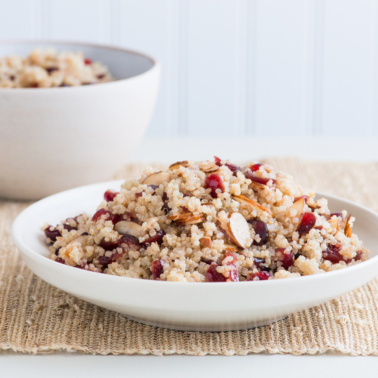 Holiday Quinoa and Cranberry Salad