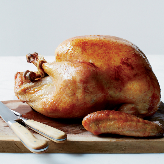 Slow-Roasted Turkey with Herb Salt