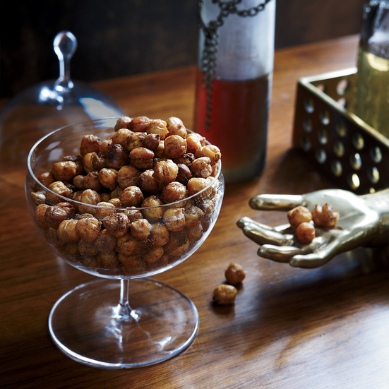Spiced Roasted Chickpeas Recipe Susan Spungen Food Wine