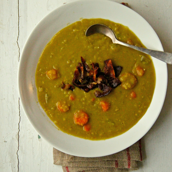 Bacon and Split Pea Soup