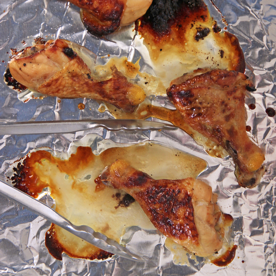 Honey-Lime Glazed Chicken Legs
