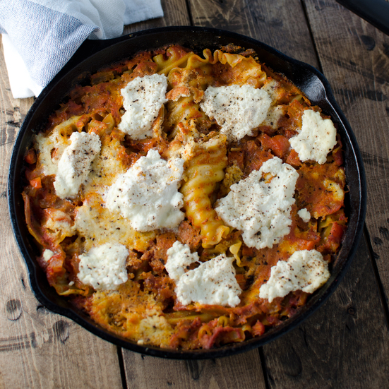 Quick-and-Easy Skillet Lasagna