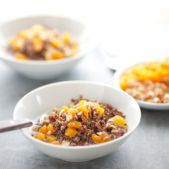 Quinoa Porridge with Toasted Almonds and Apricots Save RecipePreview Recipe