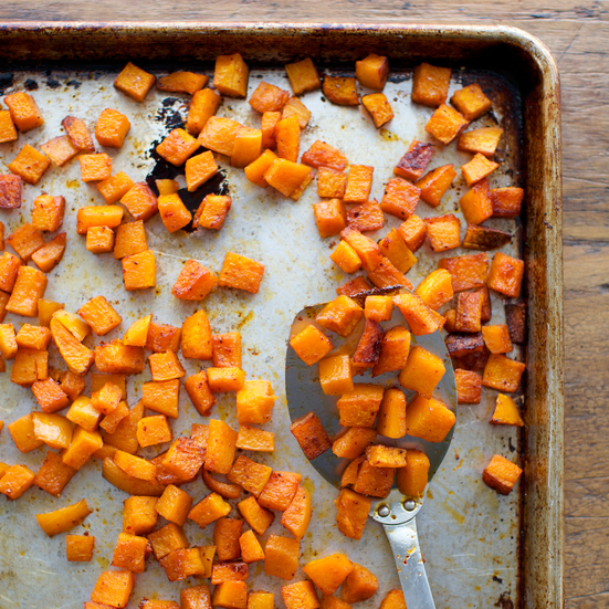 Roasted Butternut Squash with Aleppo Pepper