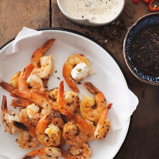 Smoked Shrimp Recipe - Marcia Kiesel | Food & Wine
