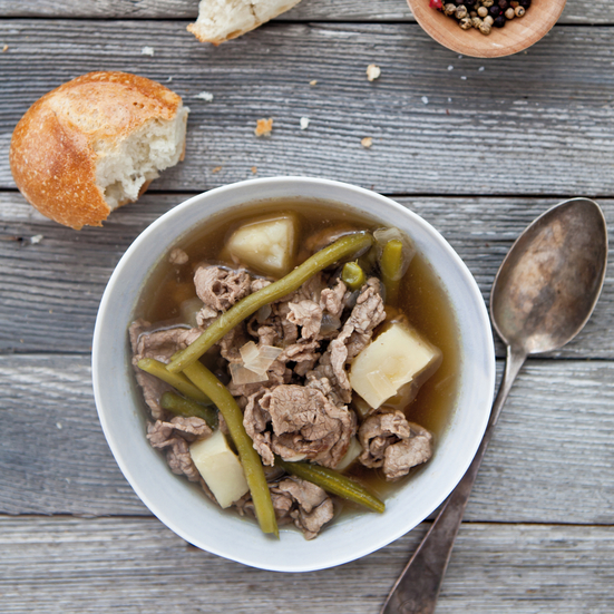 Steak-and-Potato Soup