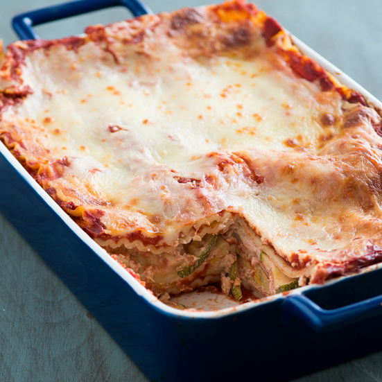 Easy Summer Squash Lasagna