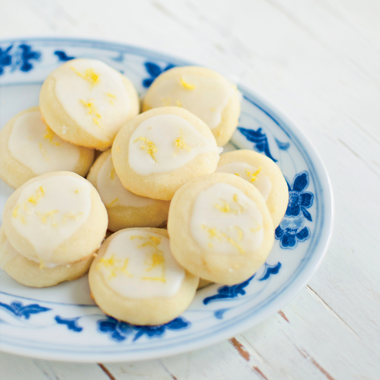 Lemony Butter Cookies