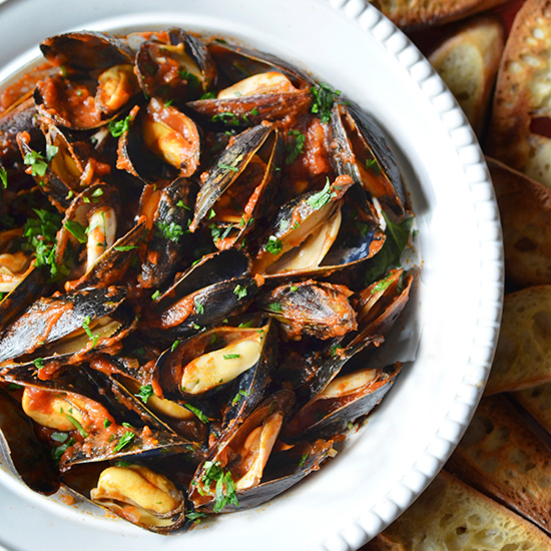 Mussels Fra Diavalo