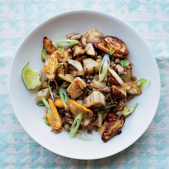 Pork and Eggplant Stir-Fry