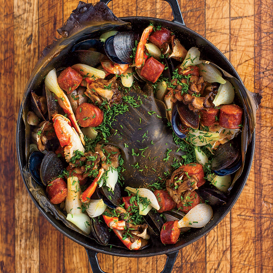 Ultimate Oven Clambake