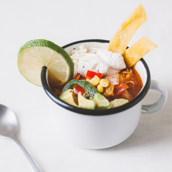 Single Serving Tortilla Soup
