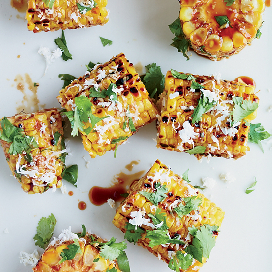 Thai-Glazed Corn