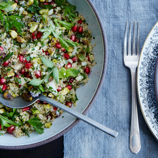 Bulgur-Pomegranate Salad