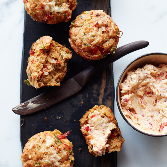 Pimento Cheese Muffins
