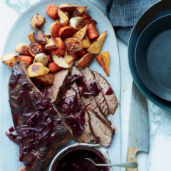 Roast Beef 101 with Winter Vegetables