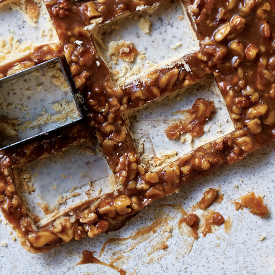 Honey-Walnut Bars
