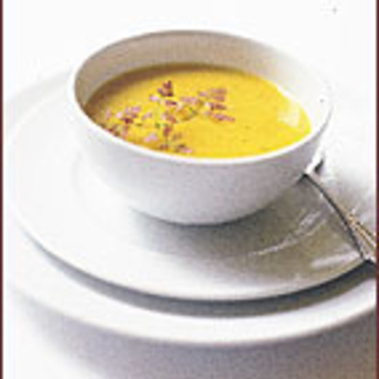Silky Squash and Celery Root Soup