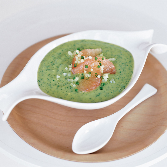 Avocado and Grapefruit Soup