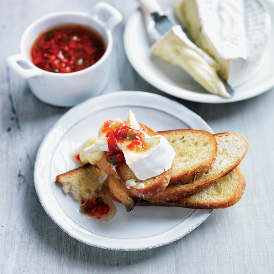 Tom Colicchio's red pepper jelly