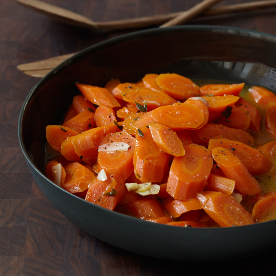 Braised Carrots with Thyme