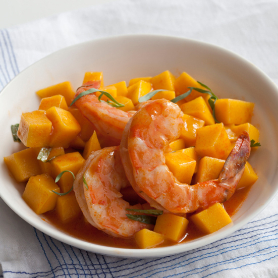 caribbean mango and steamed shrimp salad shrimp cakes